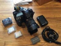 Nikon D200 kit with 18-70mm lens + UV filter