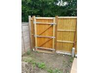 Fence panels gate and posts