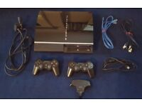 Excellent condition 60GB PS3 (Rare model CECHC03 - backwards compatible!) + 2 controllers & games