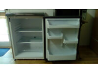 Grey Hotpoint fridge, great condition, fully working