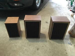 Old bookshelf speakers