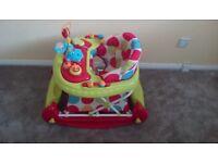 Red Kite Baby Go Round Twist 2-in-1 Walker/Rocker