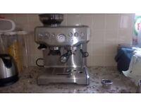 Sage BES870UK Espresso Machine - Silver