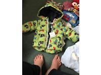 Baby boys coat 0-3 new with tags