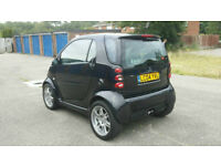 GENUINE MERCEDES SMART BRABUS COUPE 700cc TURBO IN BLACK 450 MODEL AUTOMATIC BEAULIEU SHOW FINALIST
