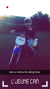 looking  to sell or trade my 250yz  for a 4stroke