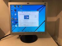 HP L1706 17 inch SXGA flatscreen monitor