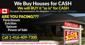 We Buy Houses for CASH in Sarnia