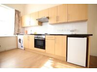 Large split level duplex one double bedroom flat with free parking & roof terrace- Hounslow area