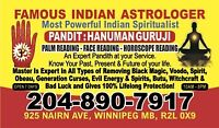 Famous Indian Astrologer, Psychic & Palm Reader