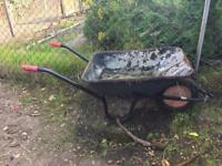 Galvanised Steel Wheel Barrow