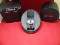 GENTS CITIZEN WATCH MODEL C300 BOXED