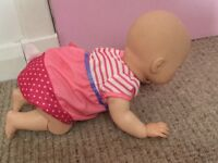 Crawling Baby Annabelle