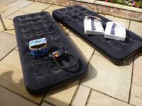 Two Air Beds