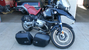 2003 BMW R 1150 GS with rare red seats