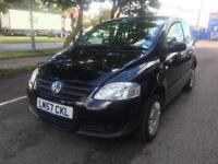 2008 Volkswagen Fox 1.2 Urban 27,000 Miles 1 Owner Black