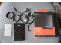 Fiio E12 Headphone Amplifier Mint Condition