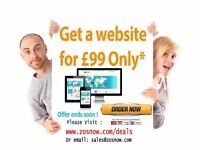 Professional Website design in Milton Keynes at £99 Only