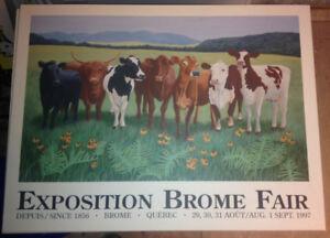 Brome Fair Posters / Affiches de l'expo Brome