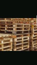 All types of wooden pallets