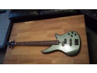 Yamaha RBX370A Bass Guitar (inc. case & new strings)