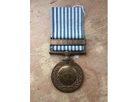 UN KOREA original campaign medal