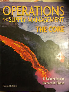 Operation and supply management-the core/ 2nd edition