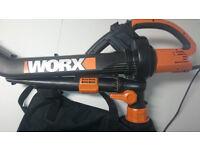 Worx Trivac blower/vacuum/mulcher 3000W