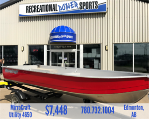 *LAST ONE* 14FT MIRROCRAFT 4650 FISHING BOAT PACKAGE