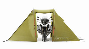 Redverz Solo Expedition tent for Motorcycle