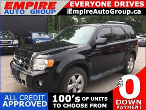 2010 FORD ESCAPE LIMITED * AWD * LEATHER * SUNROOF * BLUETOOTH *
