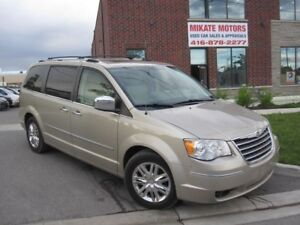 GORGEOUS A1 2008 CHRYSLER TOWN  & COUNTRY  LIMITED $10,999