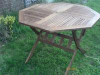 Garden Table from Royalcraft Acacia Hardwood