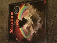 RAINBOW RISING LP VINYL RECORD 1976 PRESSING ROCK METAL GATEFOLD SLEEVE