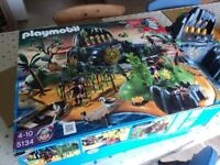 Used Playmobile Set 5134 Pirate Island