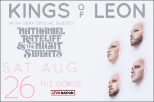 KINGS OF LEON at The Gorge