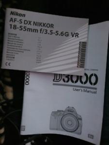Nikon d3000 make an offer