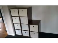 Wood Cabinets - choice of 2 or 4 drawer (1 drawer fixed other textile removable)