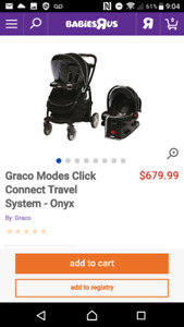 Graco Click Connect Stroller - Onyx