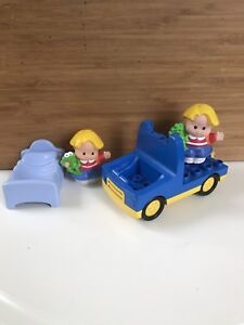 Lego Duplo truck and Little People from Fisher Price
