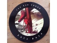 Kate Bush The Red Shoes original Promotional poster on board