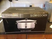 New, never used, still in box Slow Cooker