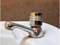 Sink with taps