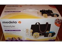 NEW/ UNBOXED Medela Freestyle Double Breast Pump