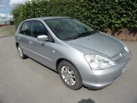 2003 HONDA CIVIC 1.4i 16V SE 12 MTHS MOT LOW MILES FSH