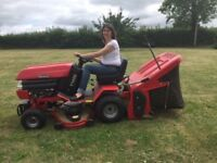 """Ride On Lawn Mower and Collector - Westwood T1600 - 16 HP - 42"""" Cutting Blade - Good Working Order"""