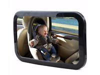 Baby Car Mirror - Kingseye 360 Wide Backseat Rear View Baby Safety Mirror - Protect Your Baby