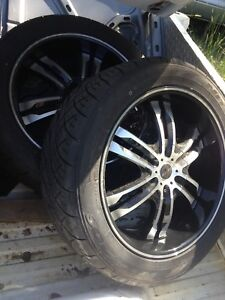 """22"""" rims - 6x139.7 - Chev/GMC/others"""