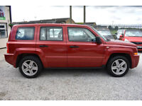 Jeep Patriot 2.0CRD Sport PATRIOT RED SPORT 2007 MODEL +READ THIS ADVERT!+