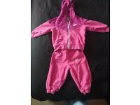 6-9 Months Girls Pink Nike Tracksuit